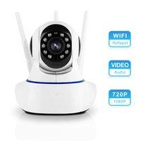 QZT sem fio WIFI Camera 1080P Infrared Night Vision interior Início câmera de segurança de vigilância do bebê pequeno monitor IP WIFI