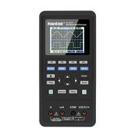 Осциллографы Hantek 2D72 2D42 Ручной цифровой осциллограф Регенератор волны Мультиметр USB 70 МГц 2CH + DMM + AWG 2.8inch ЖК-дисплей 3in1