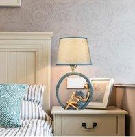 الجدول مصباح مصباح غرفة نوم السرير بسيط الحديثة الأوروبية القراءة الإبداعية الإضاءة ليلا الدراسة الضوء فندق بقيادة مصباح الطاولة