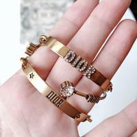 Designer Jewelry Donne Tre pezzi Bracletti perla Star Apertura Braccialetto Copper Retro Fashion Jewelry Jewelry Diamond Bijoux Punk Ins Style Vendita calda