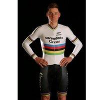 2020 Corendon CIRCO equipo pro verano skinsuit ciclismo para hombre ropa ciclismo maillot triatlón MTB sistema del juego de competición de la bici