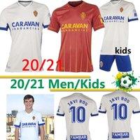 20 21 Echte Zaragoza Fussball Jersey 2020 2021 Shinji Kagawa Jerseys André Pereira Alberto Soro Camisetas de Futbol Man Set Football Shirts Top