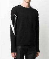 Мужской свитер осень зима новые повседневные мужчины перемычки мужские буквы вышивка с капюшоном мода мужские толстовки топы Размер s-2xl