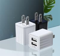 المزدوجة USB محول الطاقة الذكية الولايات المتحدة قابس 5V 2.1A شاحن سريع لفون 12 سامسونج غالاكسي الروبوت FCC UL شهادة DHL الشحن المجاني