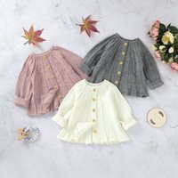 Kids Baby Girl Knit Sweaters Cardigan Simple Solid Color Single-breasted A-line Loose Version Spring Autumn Warm Clothing