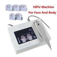 휴대용 HIFU 기계 고강도 집중 초음파 얼굴 리프트 주름 제거 피부 강화 바디 슬리밍 스파