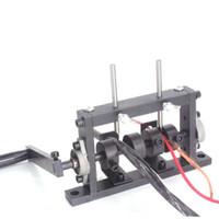Professionna Perceuses électriques Perceuse manuelle Dual-User Stripping Machine Simple / Double Cutter Câblée Câble Peeling Machines à découper pour