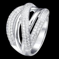 Klaster pierścienie Fahmi 2021 100% 925 Sterling Silver Love Heart Ring4-25 Wysokiej Jakości Oryginalna Biżuteria Dla Kobiet Party Prezent Ślubny