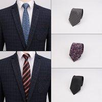 Linbaiway 8cm Luxury Wedding Ties for Men's Tie Jacquard Woven Tie Business Necktie Accessories Men Necktie Custom Logo