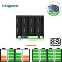 QNBBM 8S / 24V-Lithium-Batterie Balancer Equalizer BMS für LIFEPO4, LTO NCM LMO 18.650 DIY-Pack