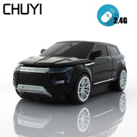 3D Wireless Mouse Computer Mice Sport SUV Car Model Mouse 16...