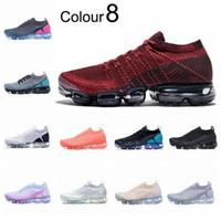 2020 Venta caliente V zapatos de running zapatillas de deporte suaves descalzos Mujeres transpirable deportivo deportivo corss caminatas de senderismo calcetín de calcetín Correr 36-45