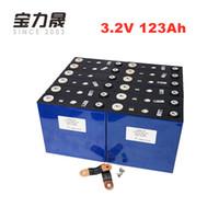 US-EU-TAX FREE 20PCS 3.2V 123Ah LiFePO4 Batterie 4000 CYCLE Lithium-Eisenphosphat-Solar-RV Motorwindkraftanlage