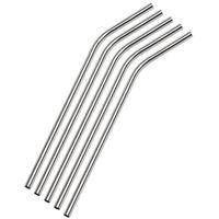 """DHL Livraison gratuite en acier potable Paille en acier inoxydable New Straws 8,5"""" 10g réutilisable ECO métal potable Straw Bar Drinks Stag Party"""