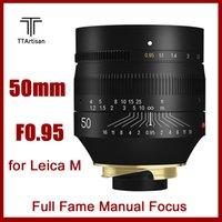 TTArtisan 50 milímetros F0.95 completa Lens fama para Leica M-Mount câmeras como Leica M-M M240 M3 M6 M7 M8 M9 m9P M10
