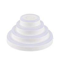 Embedded pannello tondo / quadro di pannello del LED colorato luce giù 6W 9W 16W 24W RGB Commissione LED AC85-265V Luce CRESTECH