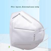 KN95 Kapak Facemask Tek Kullanımlık Maskesi Dokunmamış Kadın Erkek Kumaş Toz Geçirmez Rüzgar Geçirmez Solunum Anti-Sis Toz geçirmez Yeni Ücretsiz Gemi