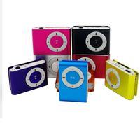 Big promotion Mirror Portable MP3 player Mini Clip waterproof sport music players walkman lettore
