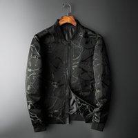Erkek Ceketler Siyah Ceket Erkekler Sonbahar Slim Fit Jakarlı Bombacı Yüksek Kalite 5XL Chaqueta Hombre Günlük Kıyafet Vintage Ceket