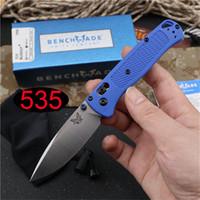 Offerta speciale BENCHMADE BM 535 Bugout AXIS coltello pieghevole S30V lama Polymer maniglia esterna di campeggio di sopravvivenza BENCHMADE BM42 BM3551 C07 Coltello