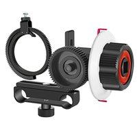 Los accesorios de estudio de iluminación siguen el enfoque con el cinturón de anillo de engranajes para y otra cámara DSLR Cámara Video DV se adapta al sistema de fabricación de cine de 15 mm