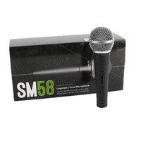 SM58S dinamico microfono vocale con On e Off voce Wired Karaoke Mic tenuto in mano di alta qualità a stage e Home Entertainment