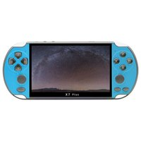 X7 Plus 5.1 Inch Handheld Game Console Portable 8GB Memory Built-in 10,000 Games