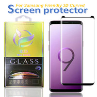 Case convivial Screen Screen Protector pour Samsung Note 20 S20 Ultra Plus S8 S9 S9 S10