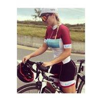Kaffit 2020 Pro Cycling Cycling Jumpsuit équipe Femmes Uniforme Ciclismo Mujer Collants Triathlon Vélo de montagne Vêtements