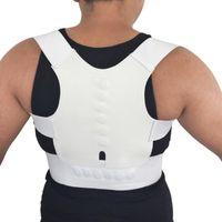 Manyetik Duruş Düzeltici Korse Kadın Erkek Geri Destek Ayraç Doğrultma Ortopedik Siyah Beyaz Yelek Korse Kemeri