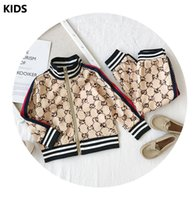 hot autumn children suit sportswear boys suit Printed Hoodie...