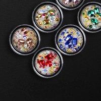 Taşlar Ve Havyar Boncuk Nail Art Dekorasyon Karışık Boyut Bling 3D Jewels Rhinestones Dekor Malzemeleri