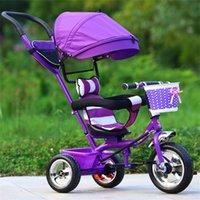 Three Wheel Baby Stroller Children' s Tricycle Child Tri...