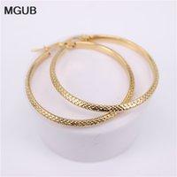 MGUB sei taglie monili delle donne del cerchio orecchini regalo classico orecchini a cerchio in oro a colori in acciaio inox donne 2020 Nuovo HX34