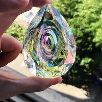 HD висячий призматические кристаллы Suncatcher для Windows, украшение 76мм AB-Color Люстры частей DIY Home Свадебных аксессуаров Декора