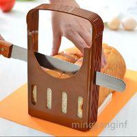 Pain Slicer, réglable Pain / rôti / Pain Slicer Cutter, pain pliant Toast Slicer Bagel Pain Slicer Toast Machine à découper MY-inf0316