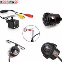 Koorinwoo Multifuntion Универсальный HD Авто Передняя камера автомобиля камера заднего вида помощи при парковке реверса Архивировать Cam детектор MV7m #