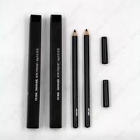 el color negro de ojos Delineador Crayon Smolder Lápiz Delineador Ojos con la caja Fácil de usar maquillaje natural cosmético de lápiz de ojos