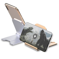 Universal-Folding Handy-Tischständer Kunststoff-Desk für iPhone Handy-Halter stents stehen X Xs Pro Max iPad Tablet mit Kleinkasten