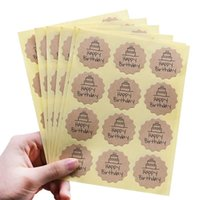 Christmas Supplies 10 Label Decor Stickers Package Sealing T...