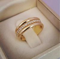 2020 mujeres anillo de novia nuevo clásico anillos de dedo simple con Medio pavimentado piedras de la CZ discreto delicado de la joyería femenina de compromiso