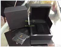 El último estilo RM 50 056 035 Documentos del reloj original de la caja de cuero de madera Cajas bolso Para Yohan Blake Flyback cronógrafo relojes de las ventas calientes