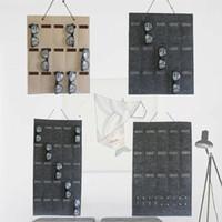 Inicio del soporte de exhibición de joyas de varios colgar de la pared Las bolsas gafas de sol bolsa de almacenamiento