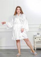 بالاضافة الى حجم إمرأة Sleepshirts التقليدية للمرأة Desigener ملابس بلون كوريا نمط كم طويل الرقبة V ملابس للنوم