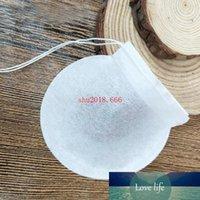 Envío libre de la Ronda creativa de té en forma de bolsas desechables de calidad alimentaria, papel de filtro bolsas de café bolsas, rellene 1-4g