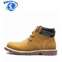 Huanqiu 2020 Herbst und Winter Stiefel Herrenschuhe Outdoor-Tooling Trend Large Size Men Wyq241