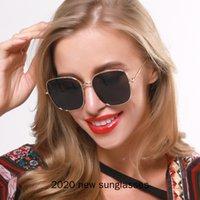 نظارات شمسية كبيرة الحجم للنساء الأزياء النظارات الكبيرة الإطار الرجعية الرجال النظارات الشمسية التدرج غاري عدسة UV400 NX