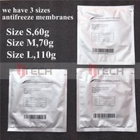 high quality 3 sizes antifreeze membrane cryolipolysis pad anti-freezing membranes for cryothrapy cryolipolysis treatment free ship
