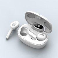 TWS-T9S Bezprzewodowe słuchawki bluetooth do Androida iPhone Zestaw słuchawkowy Bluetooth Słuchawki douszne słuchawki sportowe Earbuds z kablem ładowania