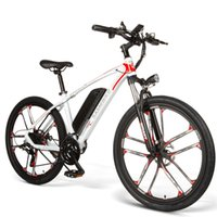 دراجات كهربائية الكبار 21 نظام السرعة Sambike My-SM26 جبل E-BIKE 350W 48V 8AH الذكية دراجة دراجة دراجة كهربائية